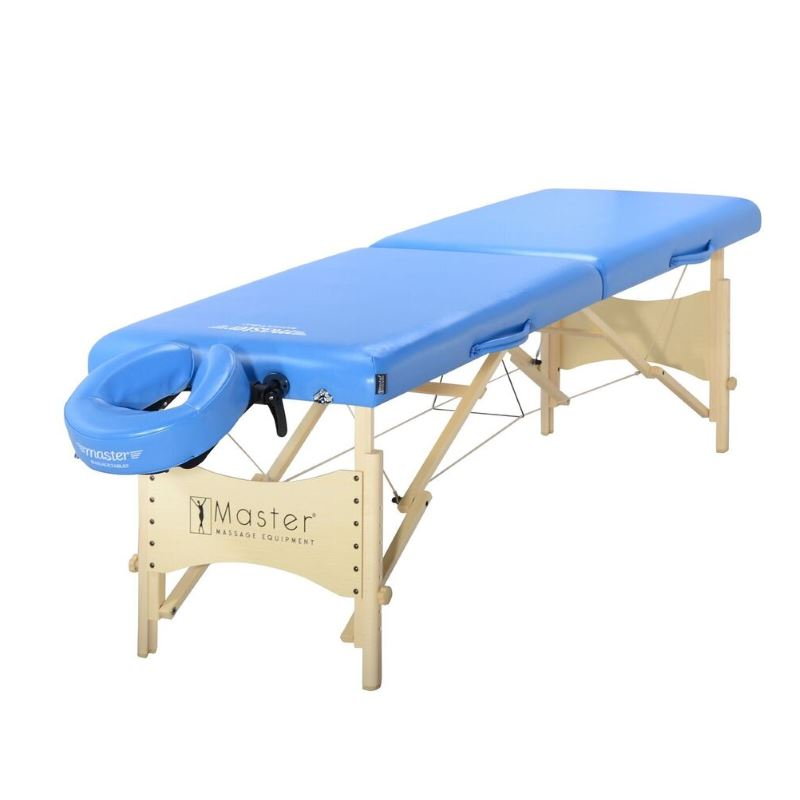 "MasterMassage 28"" Skyline Portable Massage Package in Royal Blue"