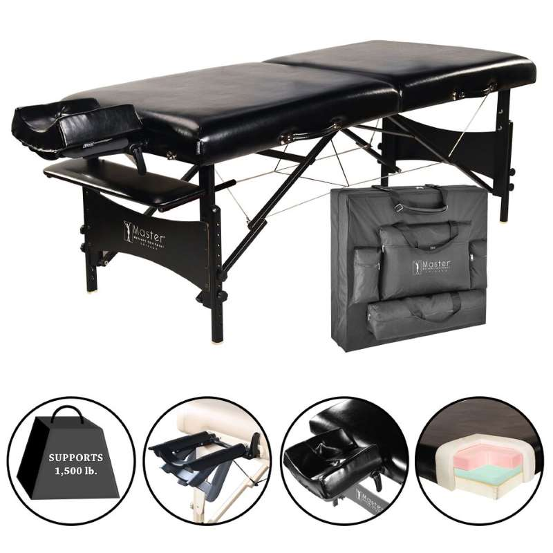 "MasterMassage 30"" Galaxy Portable Massage Table Package"
