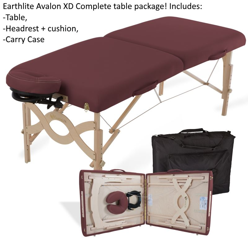 Avalon XD Massage Table by Earthlite - Strength and size of a professional massage table without the high price!