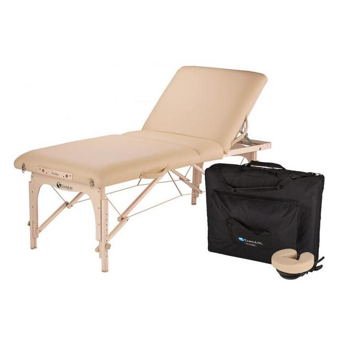 AvalonXD tilt top portable massage table package by Earthlite