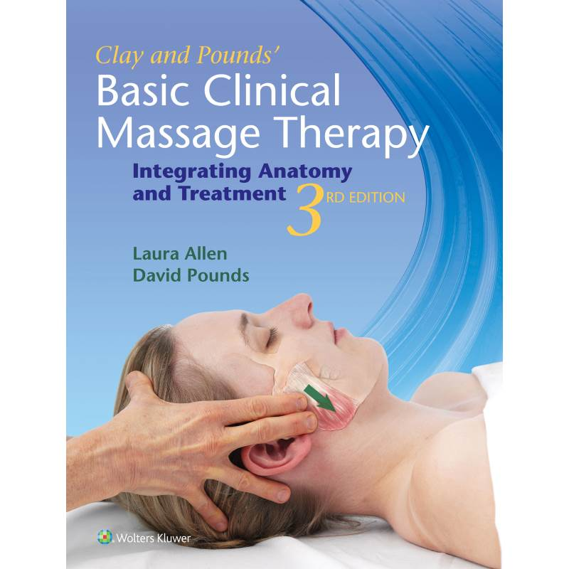 Cover image of the Basic Clinical Massage Guide book 3rd edition