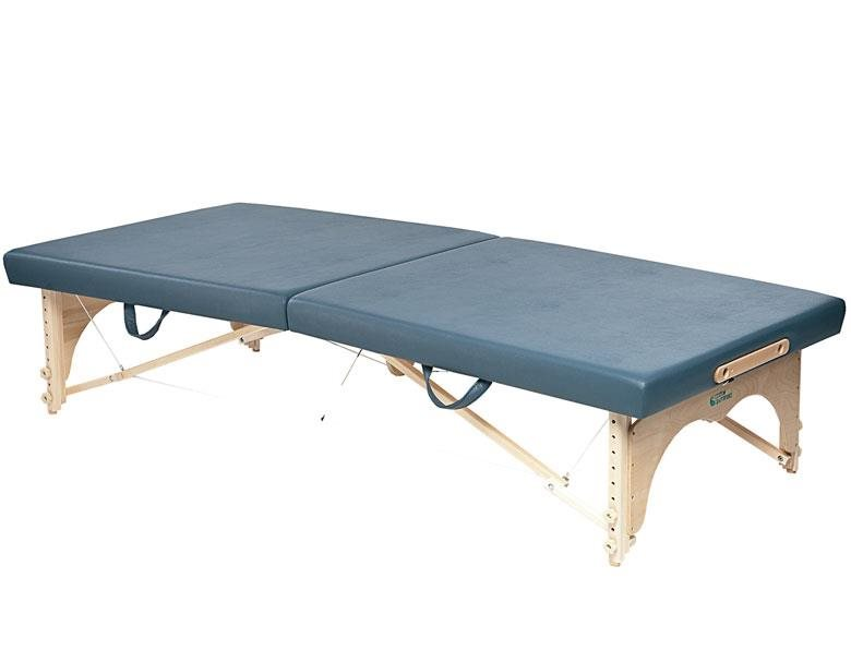 Feldenkrais method portable table in Agate Blue