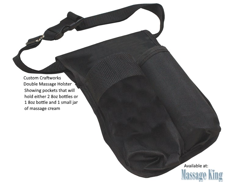 Custom Craftworks Double Oil Holster - Cordura nylon weave is washable and durable.