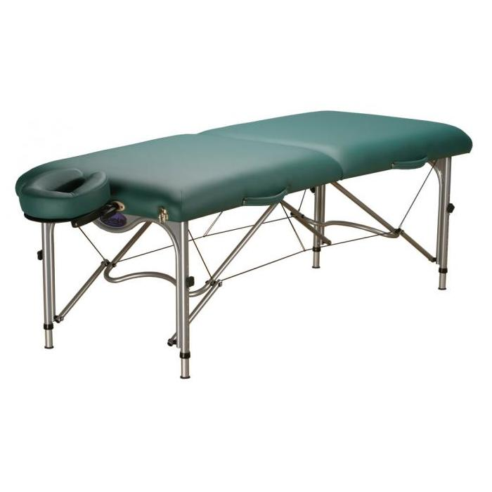 EarthLite Luna Portable Massage Table Package - Full size portable massage table, only 26 lbs, and budget friendly!