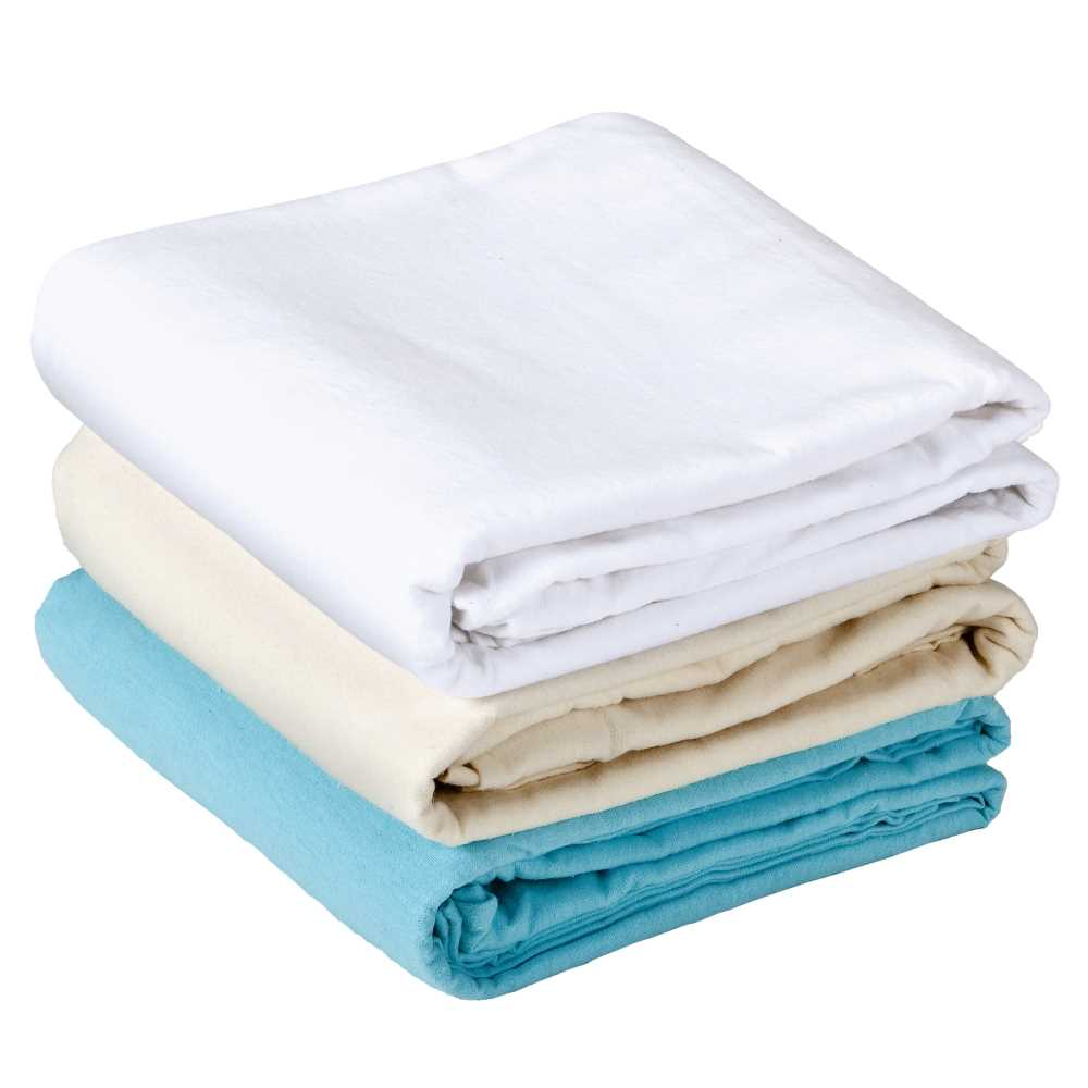 Earthlite Samadhi Pro fitted flannel massage table sheets available in 3 colors