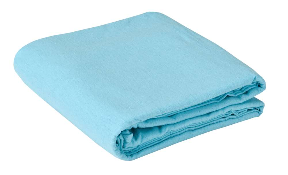 Samadhi Pro deluxe flannel sheet in blue color