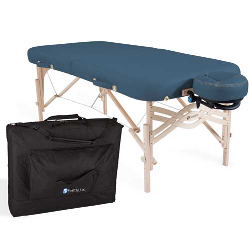 EarthLite Spirit Portable Massage Table Package - A massage table built to last a lifetime; Pick your perfect package.