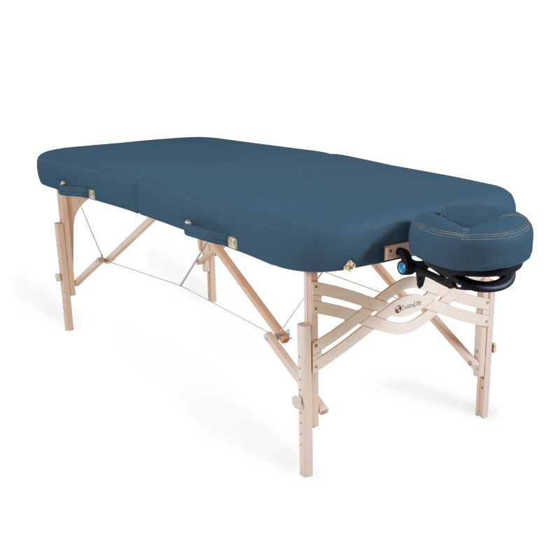 EarthLite Spirit Portable Massage Table Package Teal