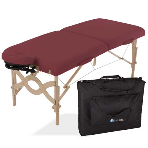 Earthlite Avalon Portable Massage Table Package - Earthlite portable massage table on Close Out!