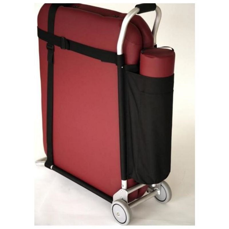 Massage Table Cart - Fully adjustable, folds flat.