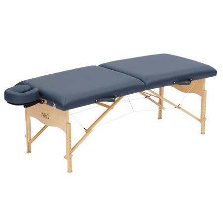NRG CHI portable massage table in blue picture