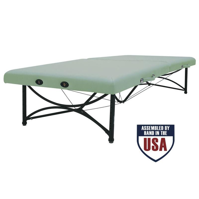 Oakworks Feldenkrais Portable somatic mat Massage Table- Oakworks quality, extra wide platform for low height access.