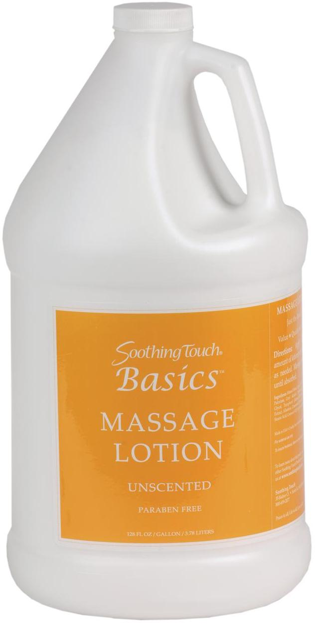Soothing Touch Basics Massage Lotion One Gallon - Soothing Touch Basics Massage Lotion