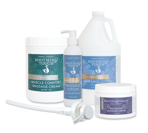 Soothing Touch Jojoba Massage Success Kit - Jojoba massage cream and lotion success kit makes a great gift!
