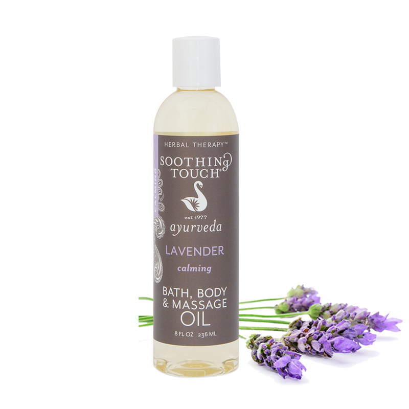Soothing Touch Lavender Bath & Body Oil 8 oz.