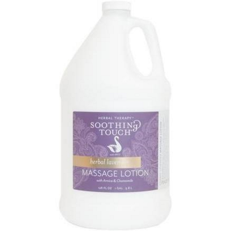 Soothing Touch Lavender Massage Lotion One Gallon