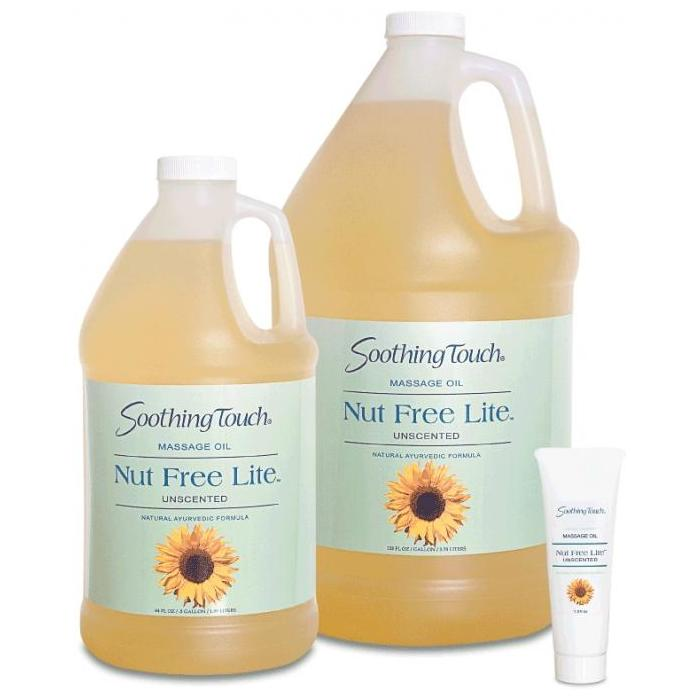 Soothing Touch Nut Free Lite Massage Oil