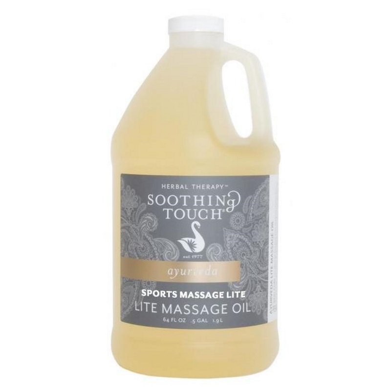 Soothing Touch Sports Massage Blend Lite Oil 1/2 Gallon