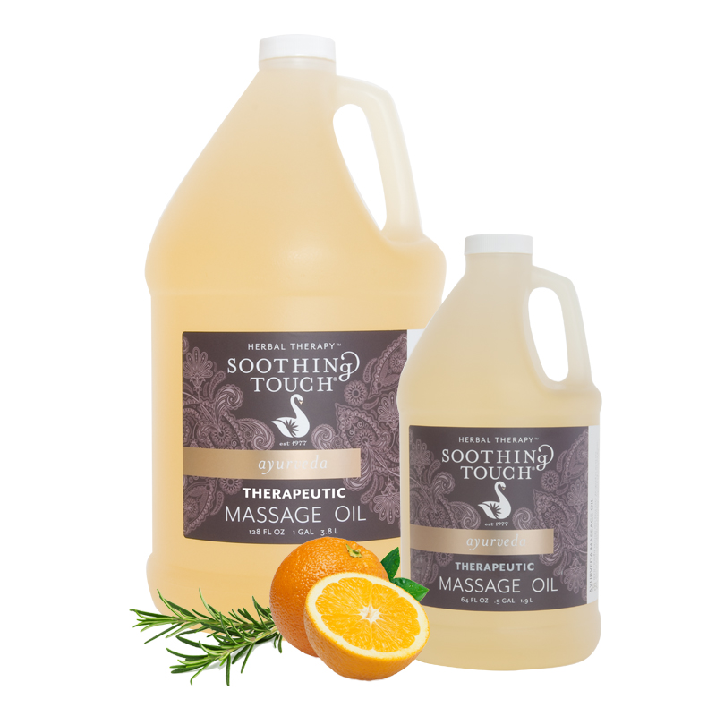 Soothing Touch Therapeutic Massage Oil Blend One Gallon