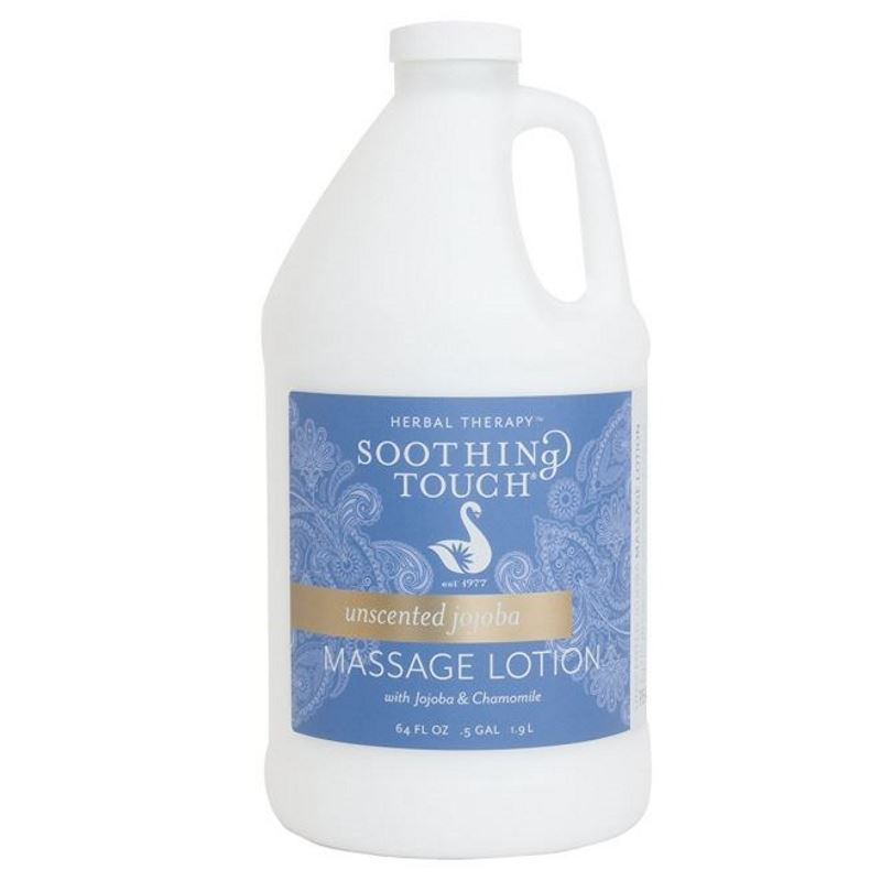 Soothing Touch Unscented Jojoba Massage Lotion Half Gallon (64oz)