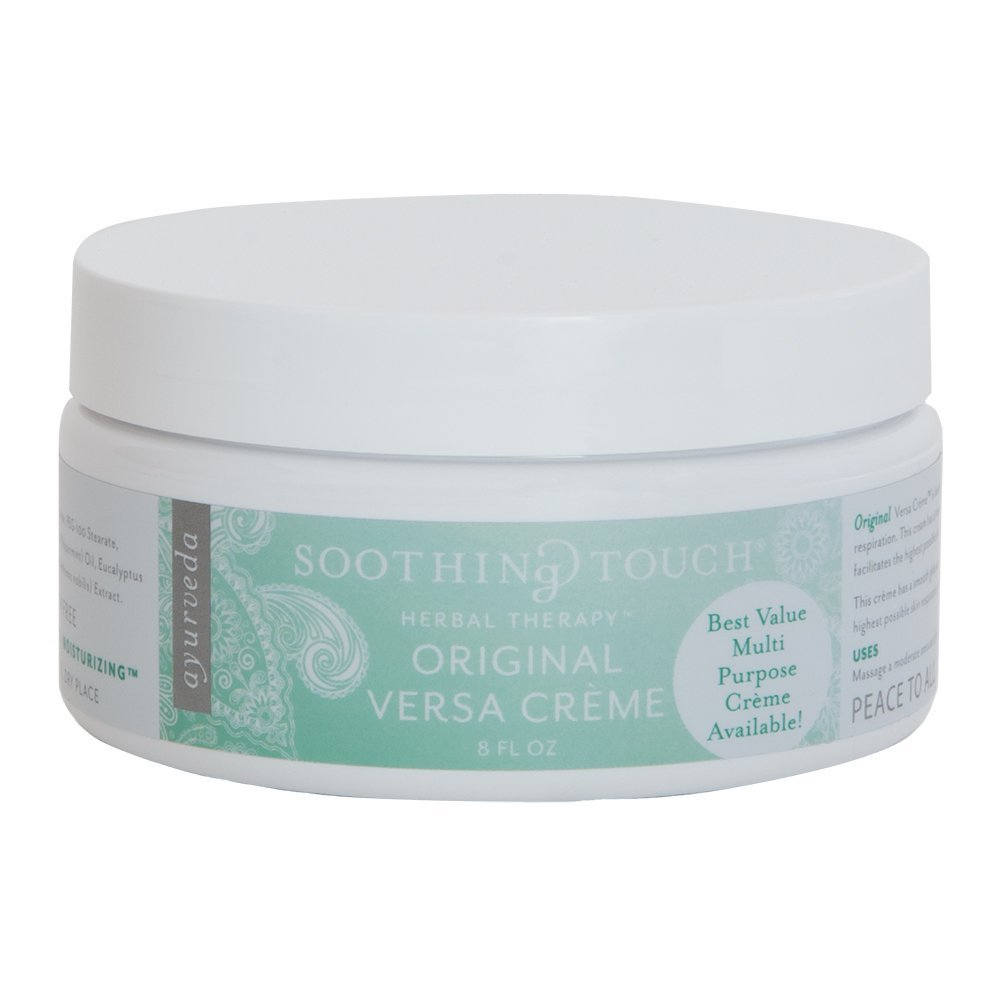 Soothing Touch Versa Creme Massage Cream 8 oz. - A Versatile Moisturizing Massage Creme for the Perfect Massage!