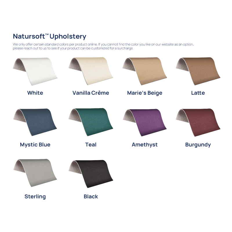 EarthLite Spirit Portable Massage Table Package Color Variations