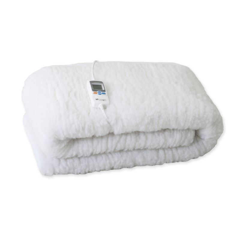 Picture of massage table fleece pad warmer folded