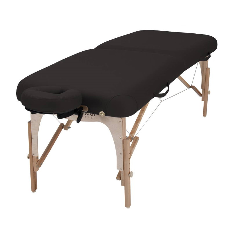 e2 table in Black color.