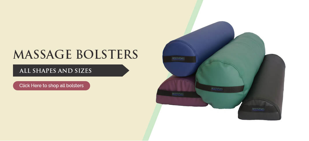 Massage bolster pillows selections