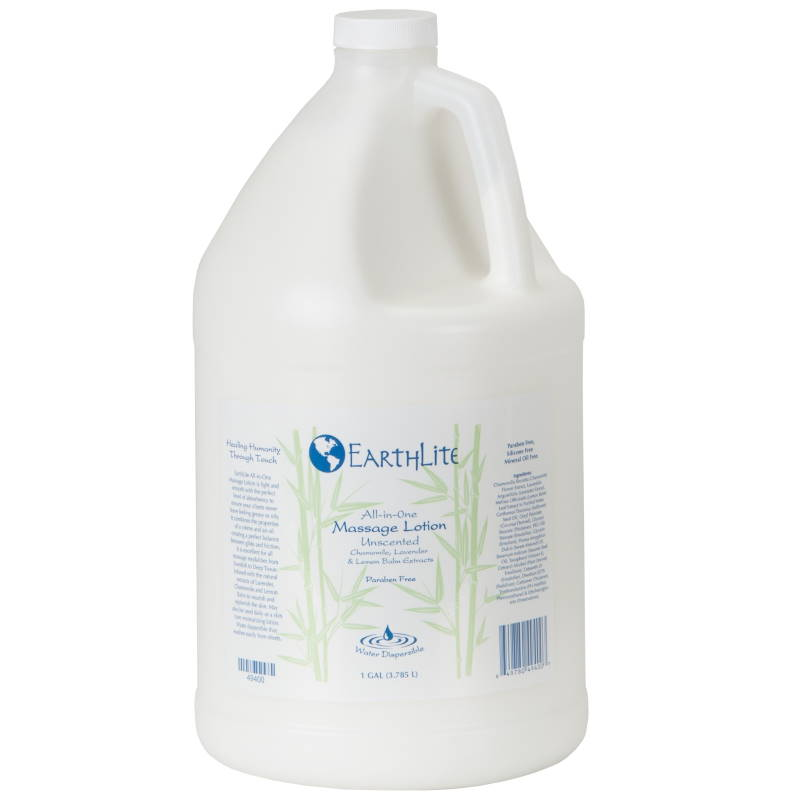 Image of 1 gallon size of All-In-One massage lotion by Earthlite